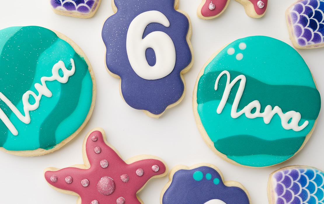 Nora's 6th Birthday Cookies